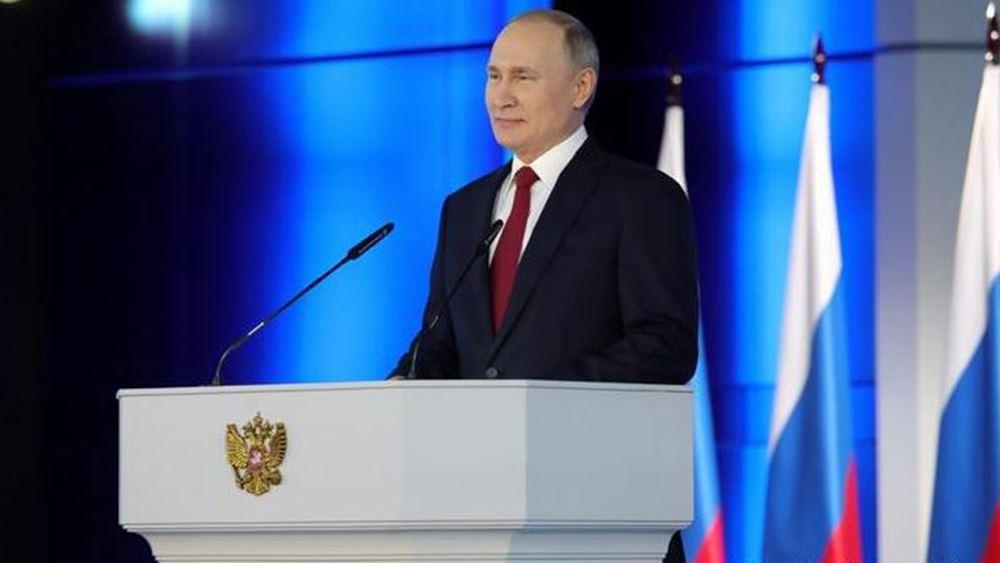 Πούτιν: Ο κορονοϊός στη Ρωσία υποχωρεί