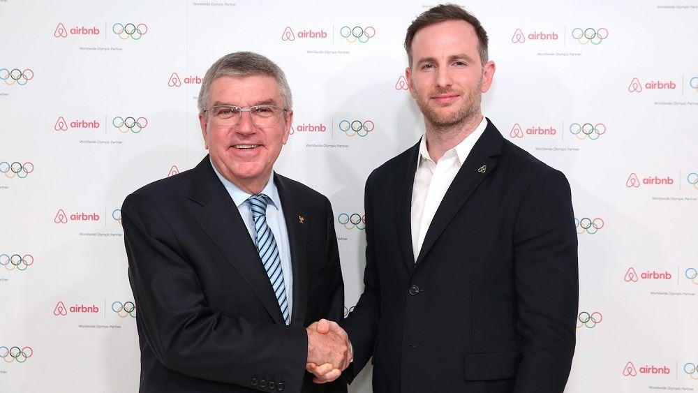 Deal $500 εκατ. της Airbnb με τη ΔΟΕ για τους Ολυμπιακούς Αγώνες ...στον δρόμο προς την IPO