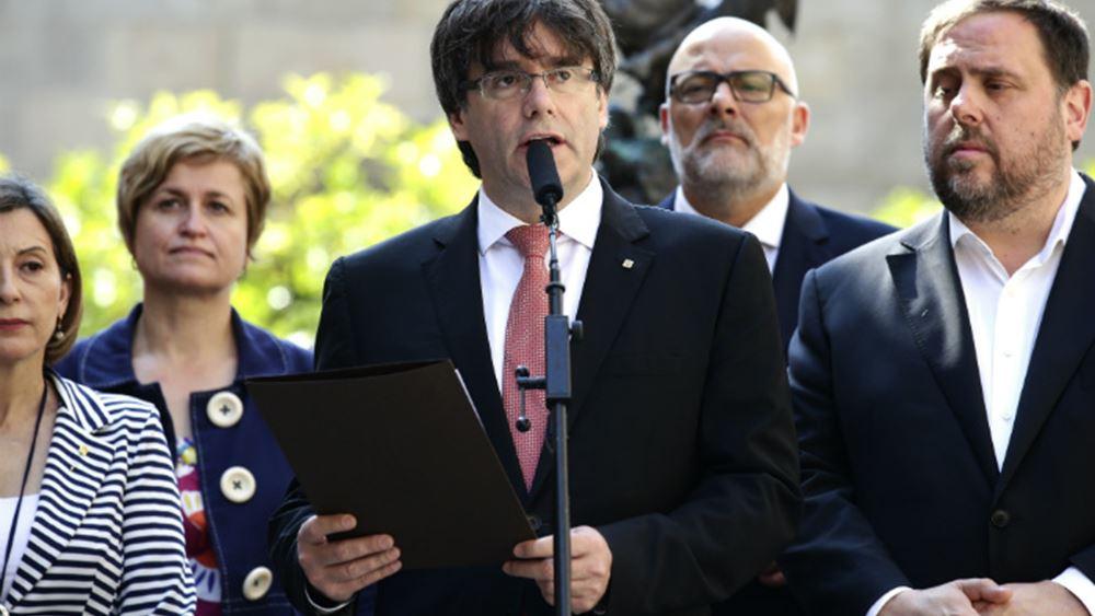 Βέλγιο: Αναστέλλεται η έκδοση του Πουτζδεμόν στην Ισπανία