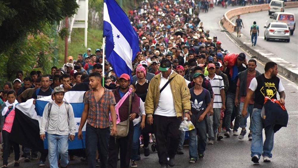 Μεξικό: Καραβάνι που κατευθυνόταν προς τα σύνορα με τις ΗΠΑ διαλύθηκε από τις αρχές