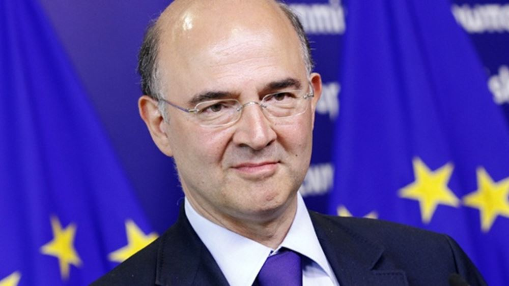 Συγχαρητήρια στον Κ. Μητσοτάκη από τον επίτροπο Οικονομικών Υποθέσεων Πιέρ Μοσκοβισί