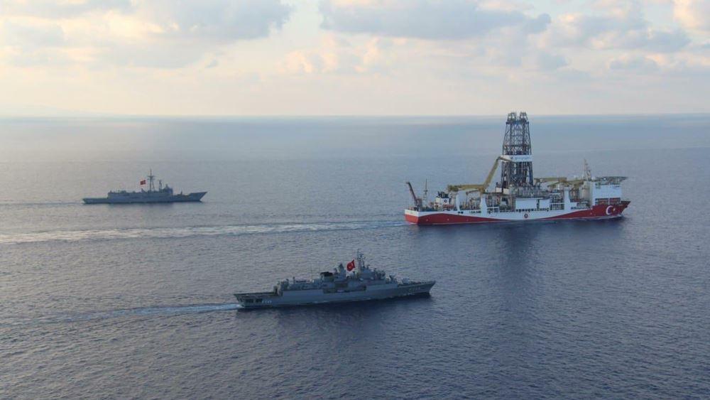 Το Γιαβούζ έφτασε στο τεμάχιο 7 της κυπριακής ΑΟΖ - Σόου από τον Τούρκο ΥΠΕΝ