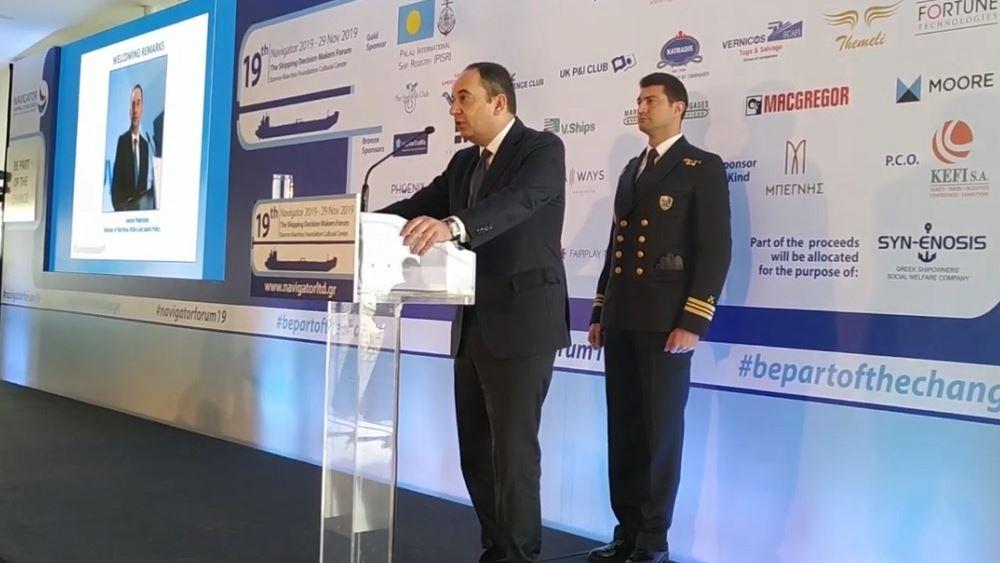 Πλακιωτάκης: Ένα μήνα πριν την εφαρμογή του νέου καυσίμου στη ναυτιλία συνεχίζουν να υπάρχουν αδυναμίες