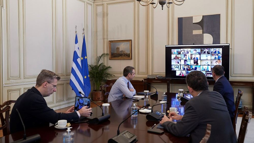 Κ. Μητσοτάκης: Τα μέτρα που λαμβάνουμε για τη στήριξη της οικονομίας είναι πάνω από τον μέσο όρο της Ε.Ε