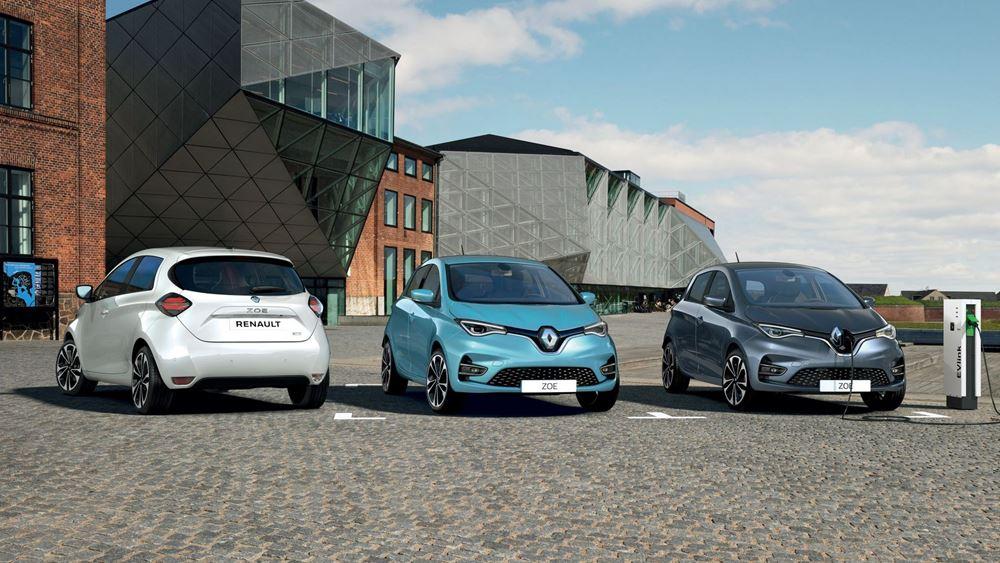 H Renault στην κορυφή των πωλήσεων στα EVs στην Ευρώπη