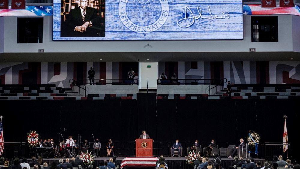 ΗΠΑ: Άρχισαν οι εκδηλώσεις στη μνήμη του πρωτοπόρου των ανθρωπίνων δικαιωμάτων Τζον Λιούις
