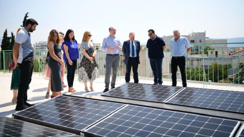Όμιλος ΕΛΠΕ: Δωρεά φωτοβολταϊκού συστήματος στο Κέντρο Αγάπης Ελευσίνας