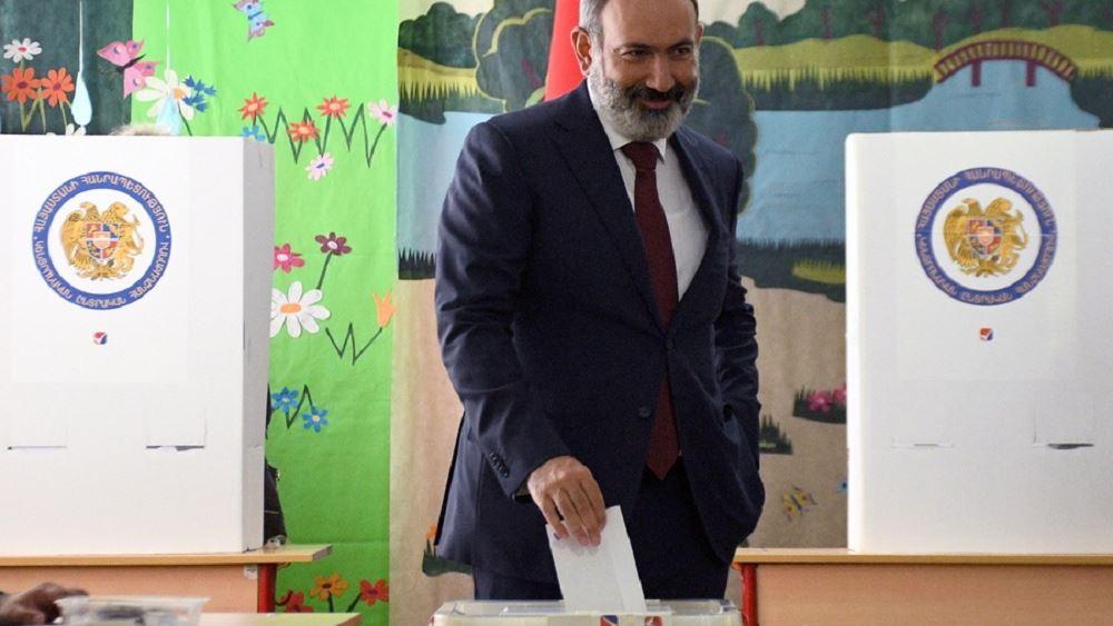 Πασινιαν Αρμενια εκλογες