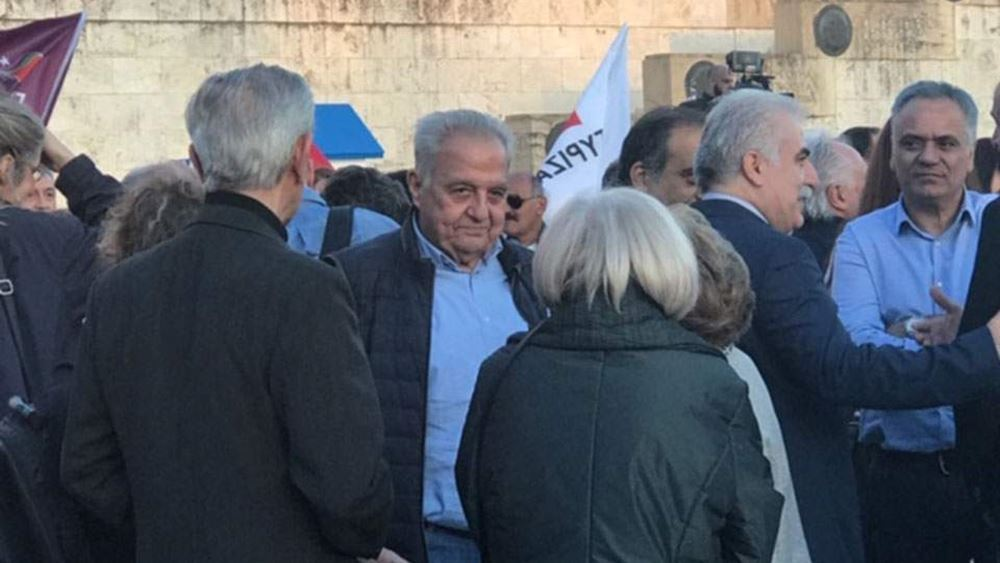 Στην προεκλογική συγκέντρωση του ΣΥΡΙΖΑ ο αρχηγός της ΕΛ.ΑΣ - Κινδυνεύει με ΕΔΕ
