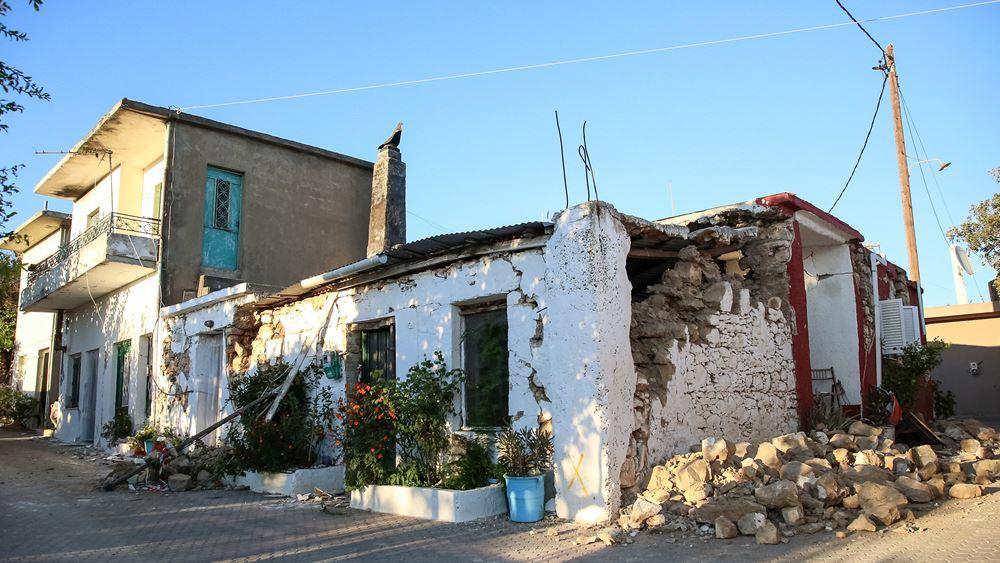 Νέος σεισμός 5,4 Ρίχτερ στην Κρήτη