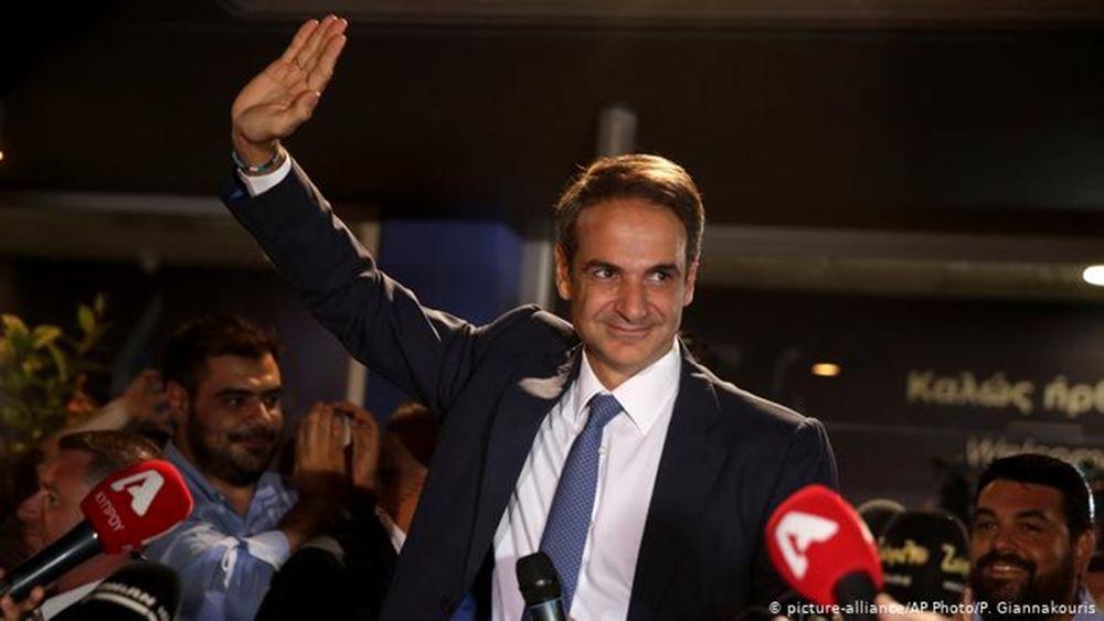 FAZ: Η Ελλάδα μπορεί να ελπίζει σε διέξοδο με τον Μητσοτάκη