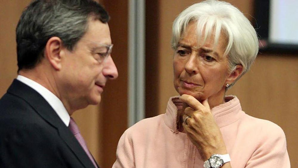 ΔΝΤ - ΕΚΤ, εβδομάδα αποφάσεων για χρέος και μέτρα 2019-2020