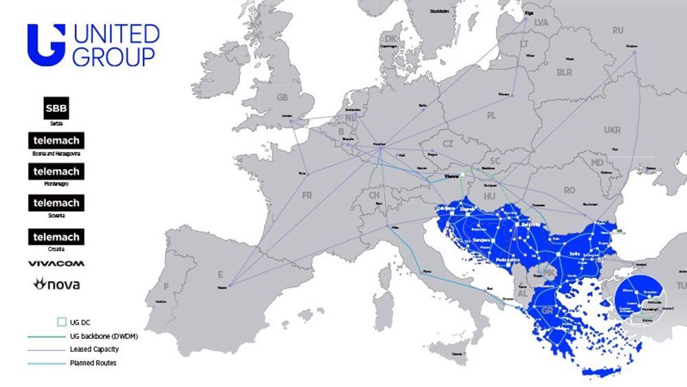 "UnitedGroup: Μπαίνει στην αγορά χονδρικής με ""στρατηγείο"" στην Ελλάδα"