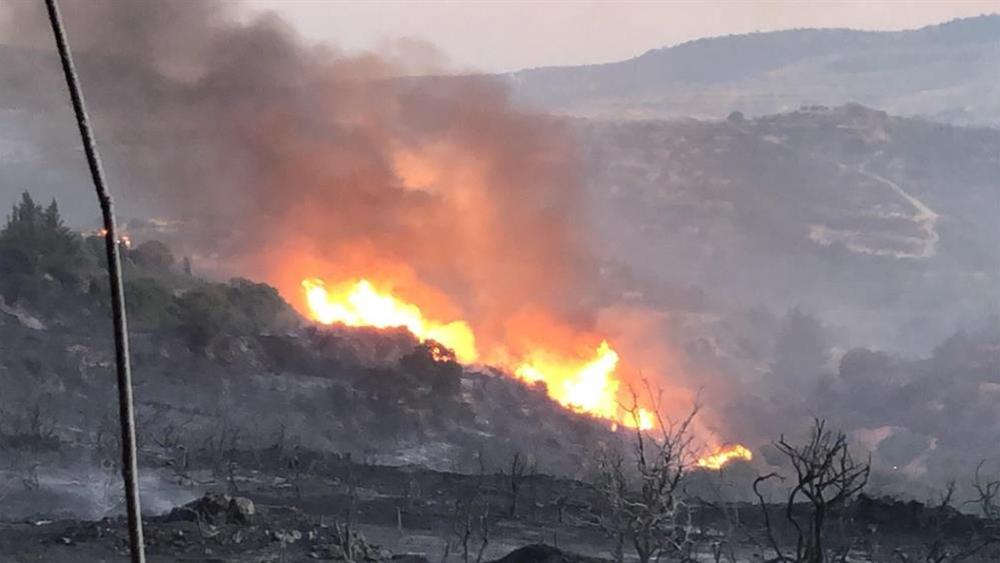 Πυρκαγιά στην Κύπρο: Ανεξέλεγκτο το μέτωπο στην επαρχία Λεμεσού