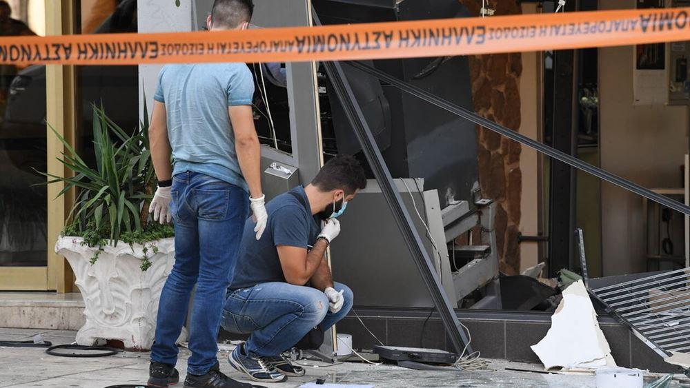 Θεσσαλονίκη: Άγνωστοι ανατίναξαν ΑΤΜ στο Τριάδι