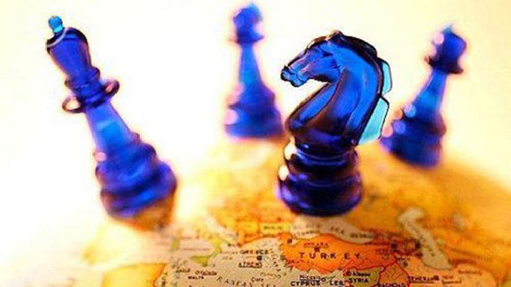 γεωπολιτική σκακιέρα