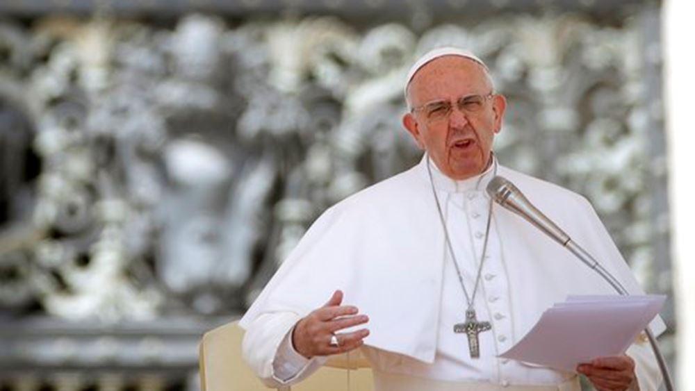 Πάππας Φραγκίσκος: Επαίνεσε Ιταλία, Ελλάδα, Γερμανία για το προσφυγικό