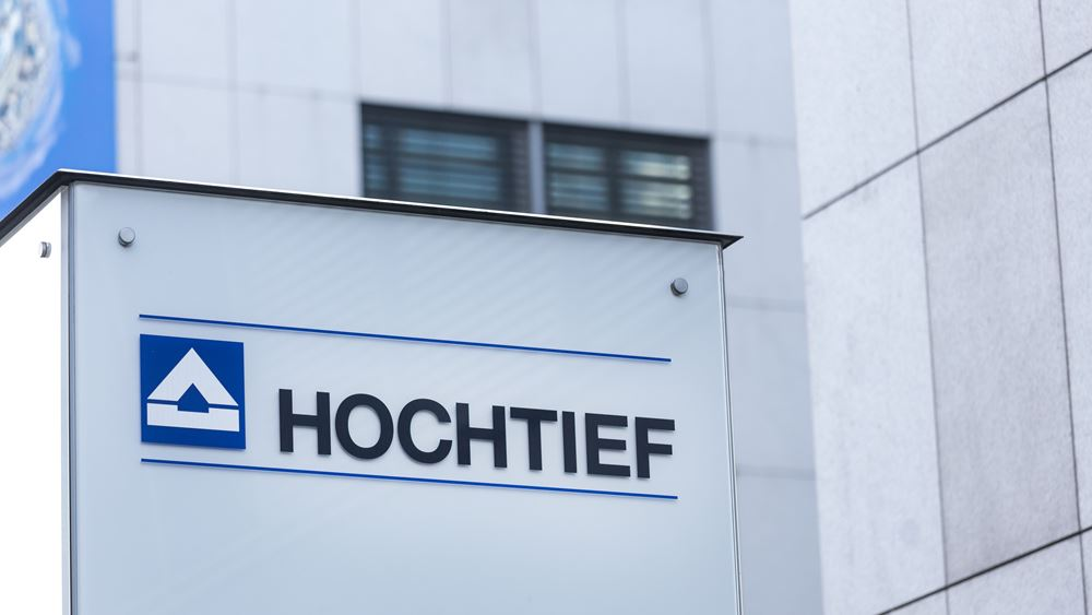 Hochtief: Αύξηση κερδών στο α' τρίμηνο, εμμένει στους στόχους του 2019