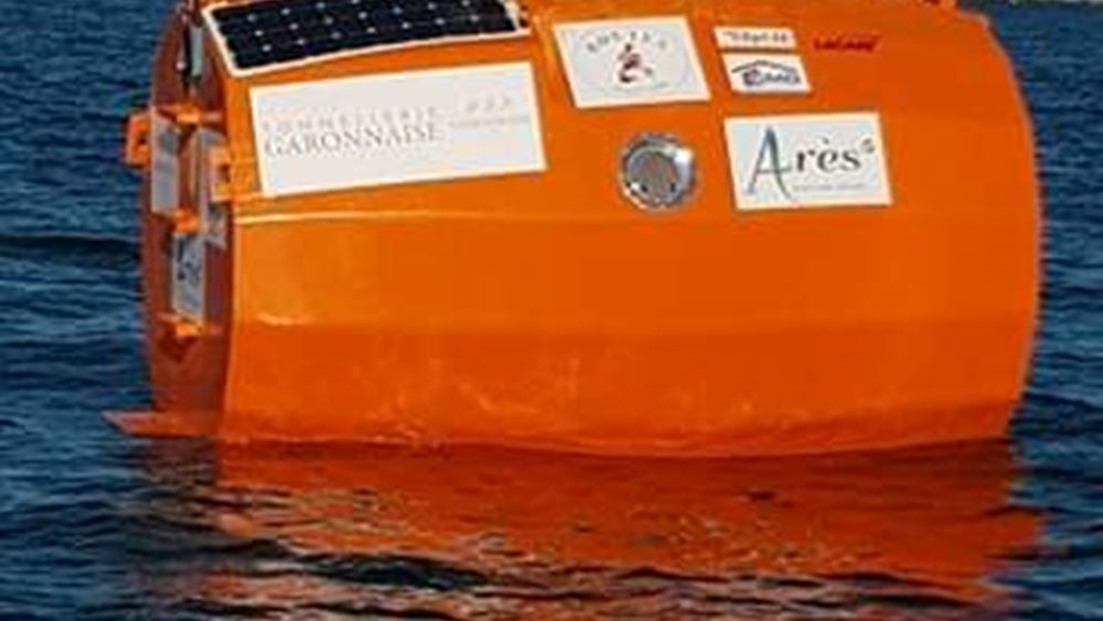 BBC: Ένα Γάλλος 71 ετών θα διαπλεύσει τον Ατλαντικό μέσα σε ένα βαρέλι