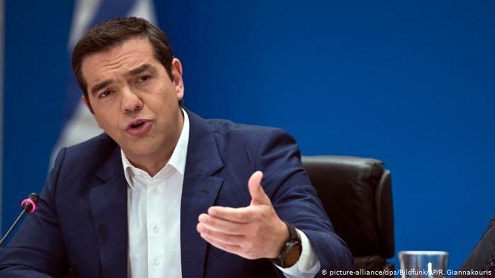 """Ο Τσίπρας μιλάει για... """"ρουσφετολογικό"""" αναπτυξιακό νομοσχέδιο"""