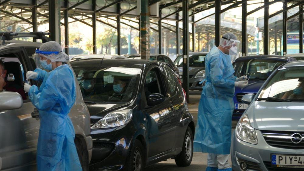 ΕΟΔΥ: Πραγματοποιήθηκαν σήμερα 1.835 rapid test- βρέθηκαν 18 κρούσματα