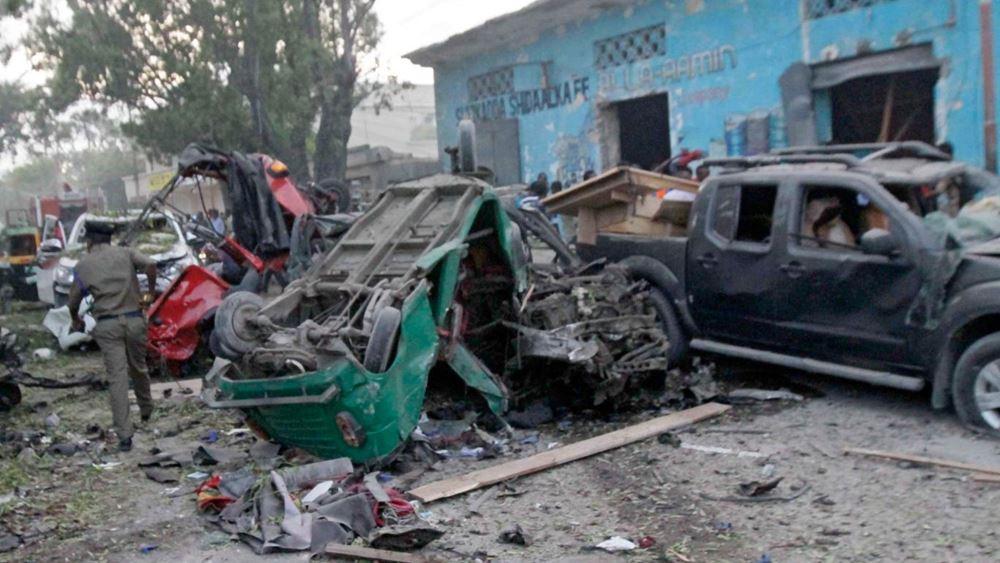 Σομαλία: Ισχυρές εκρήξεις στο Μογκαντίσου