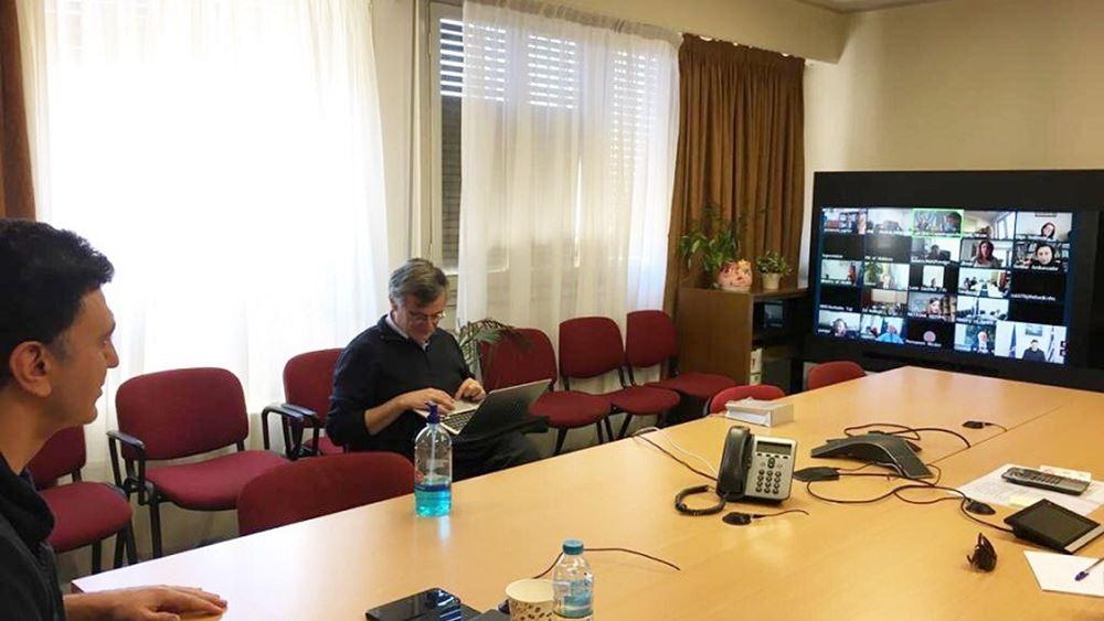 Τηλεδιάσκεψη Τσιόδρα - Κικίλια με τον περιφερειακό διευθυντή του Π.Ο.Υ.