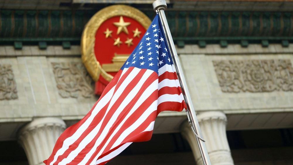 Αναβάλλονται οι προγραμματισμένες για Σάββατο συζητήσεις ΗΠΑ-Κίνας  για την εμπορική συμφωνία