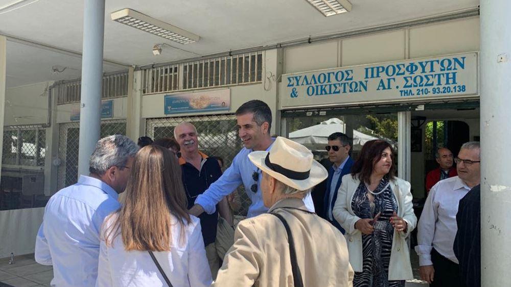 Μπακογιάννης: Στόχος μας κάθε Αθηναίος να βρίσκει πράσινο στη γειτονιά του το πολύ με 10 λεπτά περπάτημα