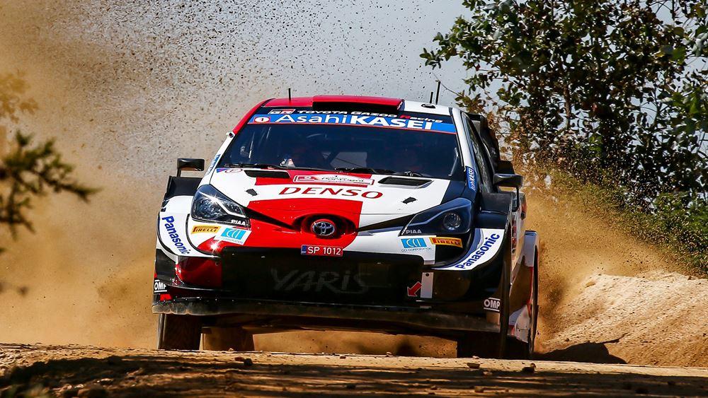 Το Toyota Yaris WRC συναντά το θρυλικό Ράλλυ Ακρόπολις
