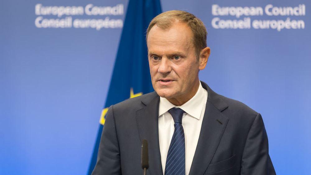 Τουσκ: Οι βρετανικές εσωτερικές υποθέσεις οδηγούν την Βρετανία εκτός ΕΕ