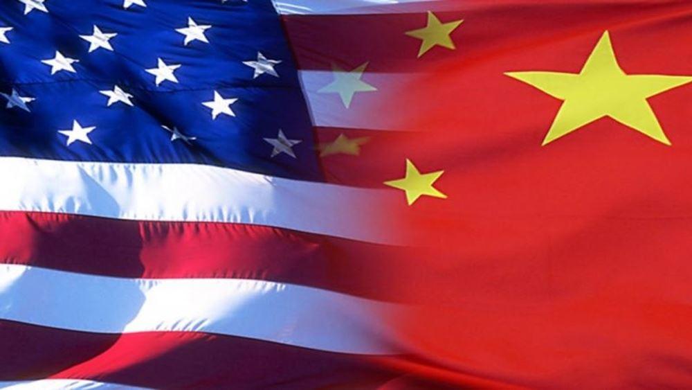 """Κίνα: Πραγματοποιούνται """"εις βάθος"""" συζητήσεις με τις ΗΠΑ για μια προσωρινή εμπορική συμφωνία"""