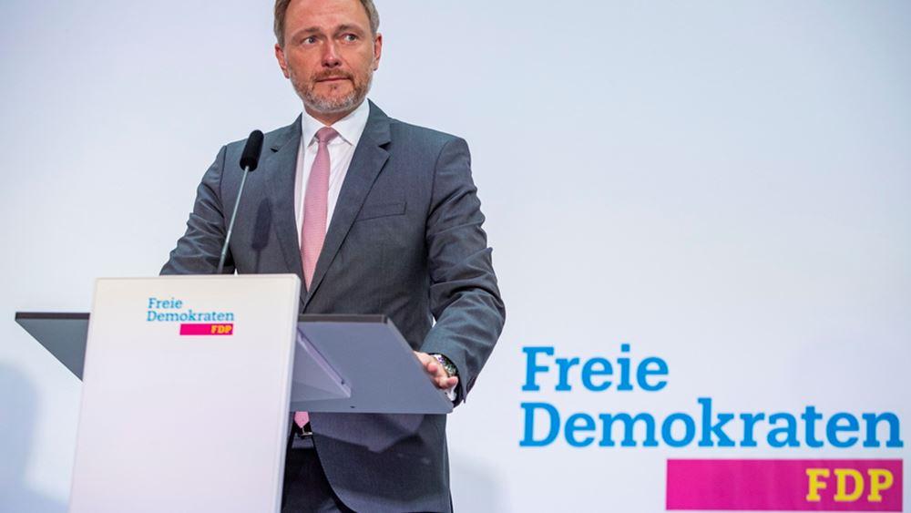 Γερμανία - Εκλογές: Οι Φιλελέυθεροι αποφάσισαν προκαταρκτικές διαβουλεύσεις με τους Πράσινους