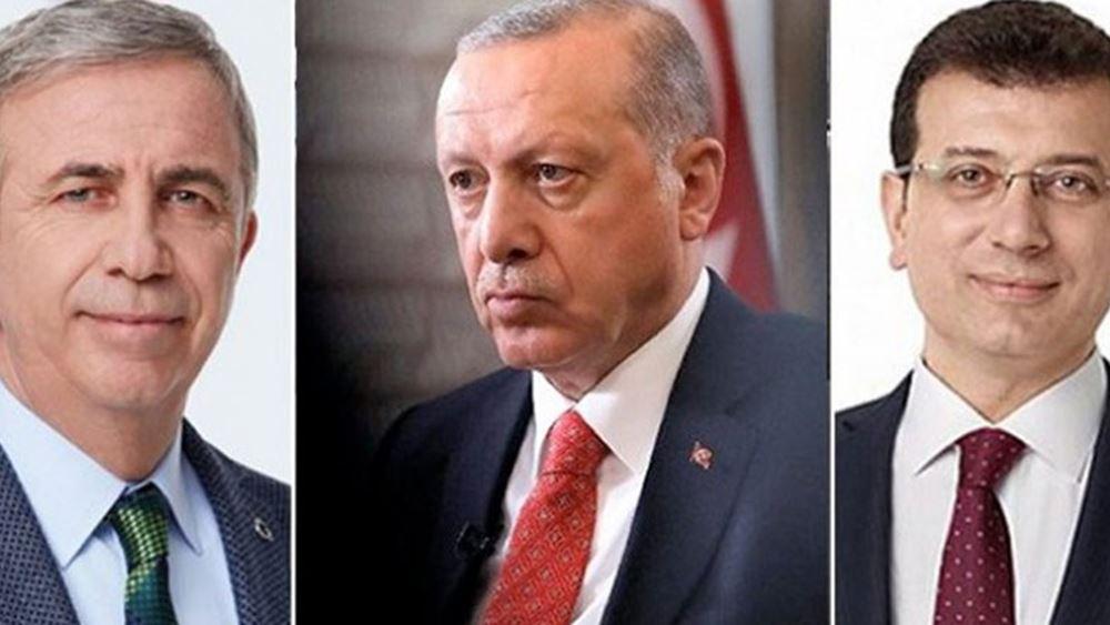 """Νέα δημοσκόπηση στην Τουρκία: """"Χάνει"""" την προεδρία από Γιαβάς-Ιμάμογλου ο Ερντογάν"""