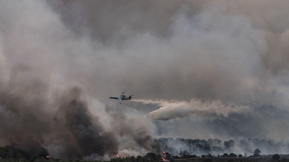 Νύχτα αγωνίας στην Ηλεία: Κυκλώνουν τον Λάλα οι πυρκαγιές