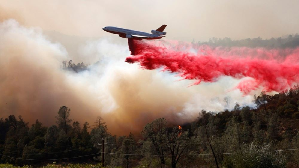 ΗΠΑ: Στο έλεος πυρκαγιάς οι διάσημοι αμπελώνες της κοιλάδας Νάπα