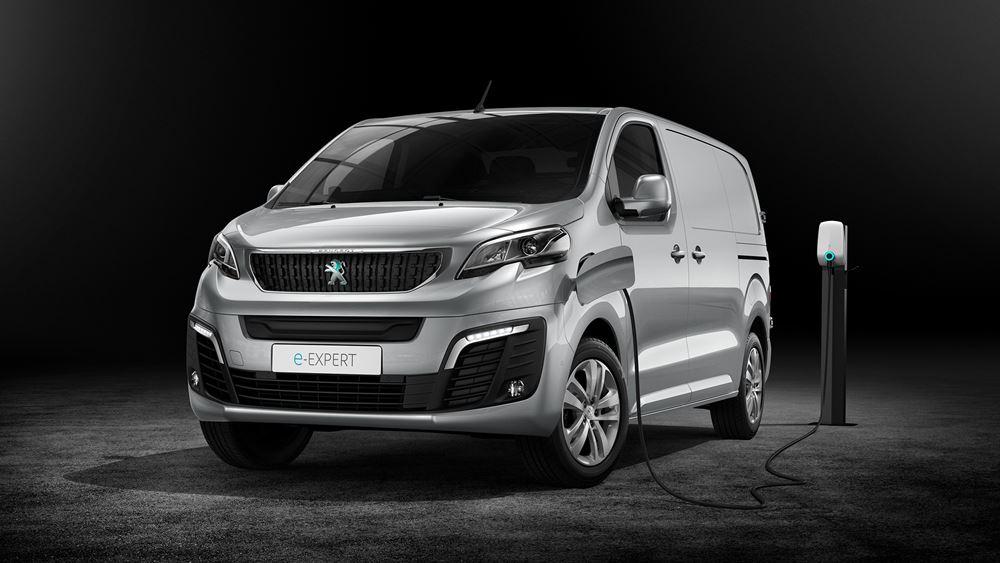 Το ηλεκτρικό Peugeot e-Expert κάνει πρεμιέρα στην Ελλάδα τον Ιανουάριο