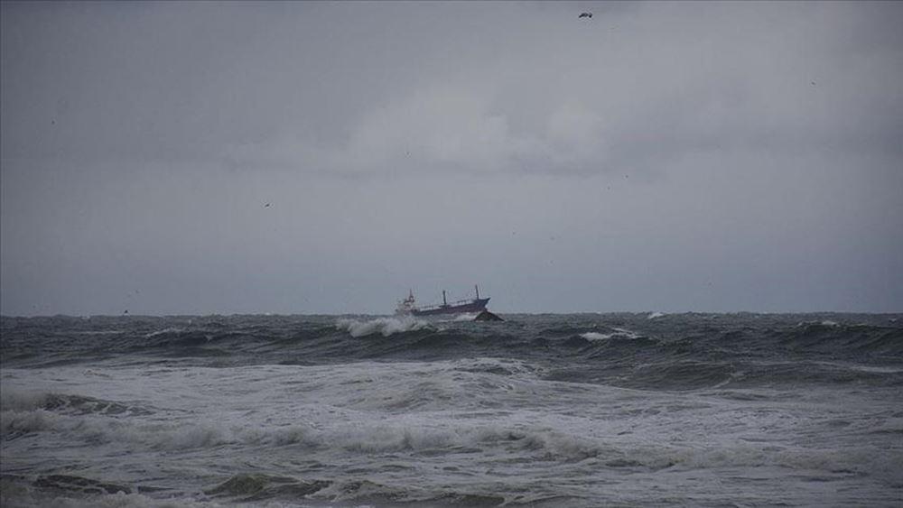 Δύο νεκροί σε ναυάγιο ρωσικού φορτηγού-πλοίου στη Μαύρη Θάλασσα