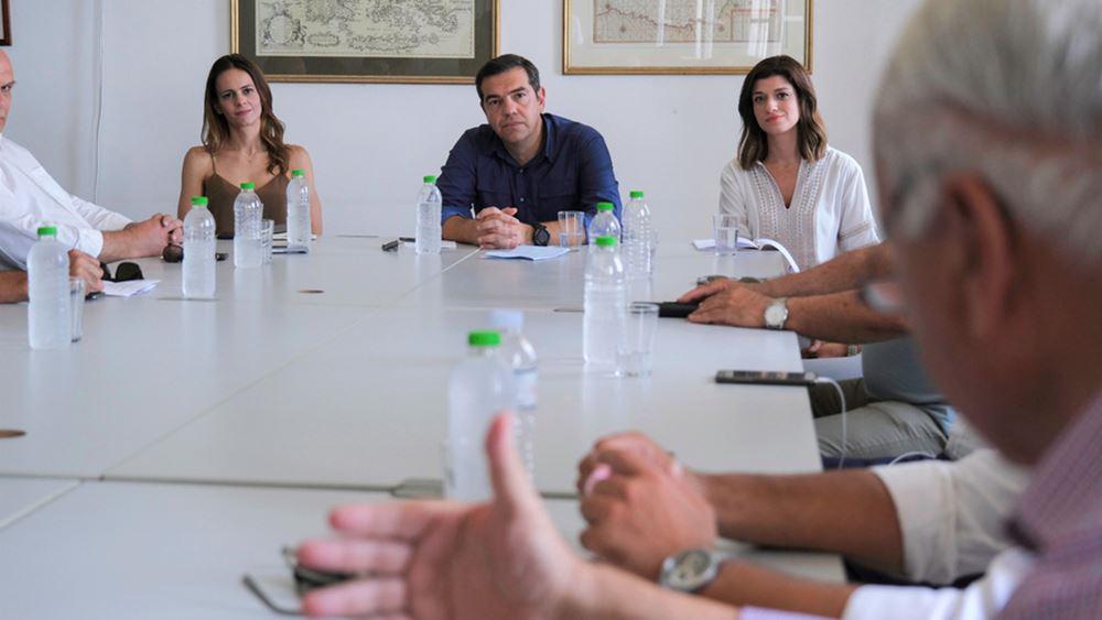 Τσίπρας: Επιλογές της κυβέρνησης η μείωση μισθών, η εκ περιτροπής εργασία και η μη στήριξη επιχειρήσεων