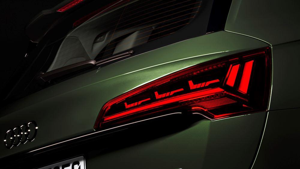 H τεχνολογία φώτων OLED της Audi