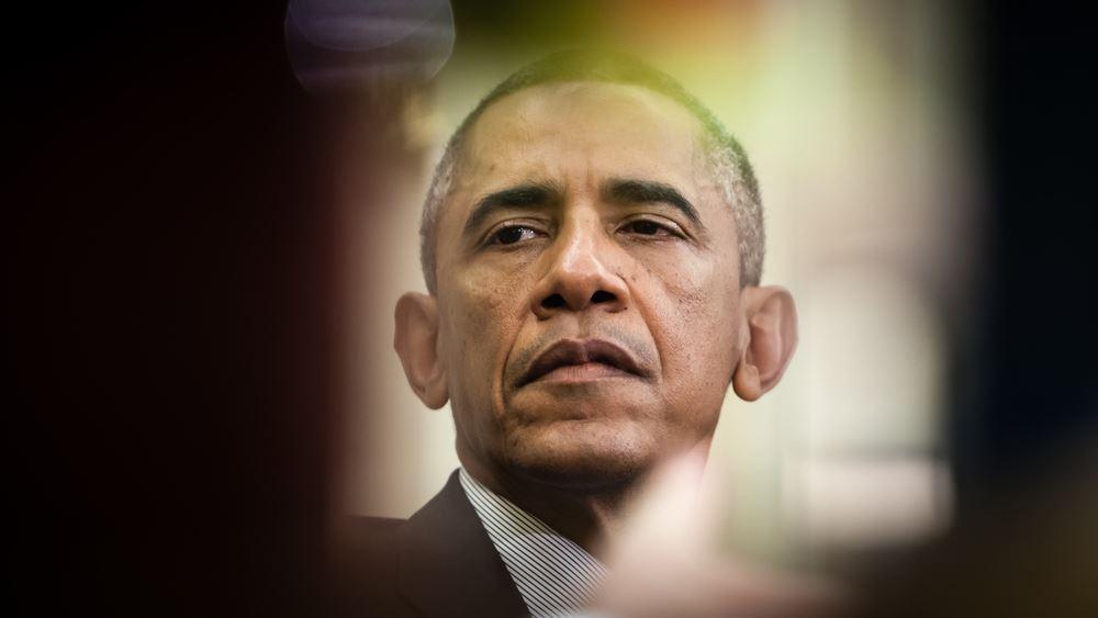 """ΗΠΑ: Ο Μπ. Ομπάμα απευθύνει τις """"καλύτερες ευχές"""" του για ταχεία ανάρρωση στον Ντ. Τραμπ"""