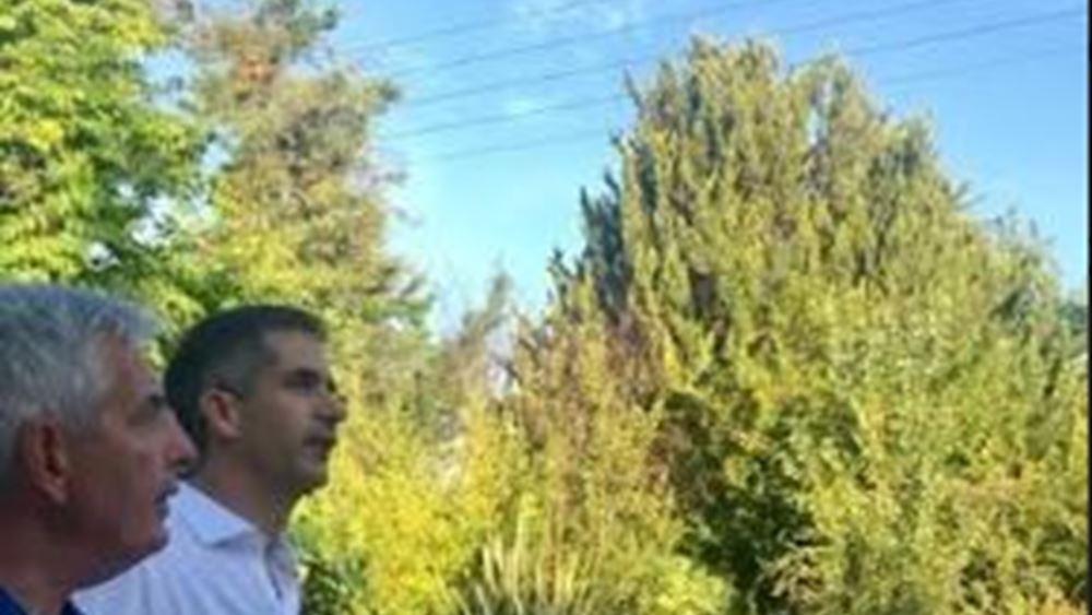 Στην υπηρεσία Πρασίνου της Αθήνας ο Κώστας Μπακογιάνννης