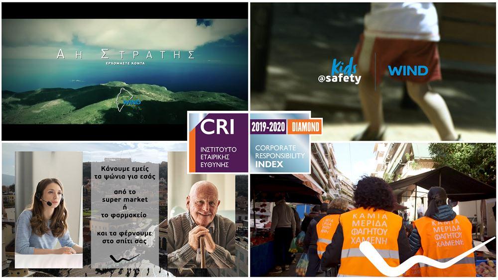 CR INDEX 2020: H μεγαλύτερη διάκριση για την Εταιρική Υπευθυνότητα της WIND