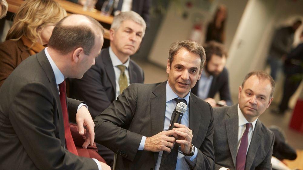 Κ. Μητσοτάκης: Ανάγκη παροχής φορολογικών κινήτρων για νέες start-up