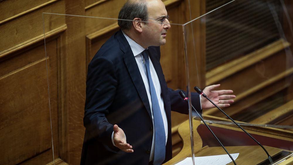 Χατζηδακης: Απαξιώνονται οι συνδικαλιστές που προσφεύγουν στη δικαιοσύνη κατά των πιστοποιημένων λογιστών και δικηγόρων