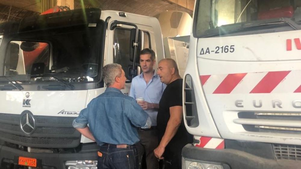 Κ. Μπακογιάννης: Στόχος να κάνουμε την Αθήνα μια πόλη καθαρή και φιλική για όλους