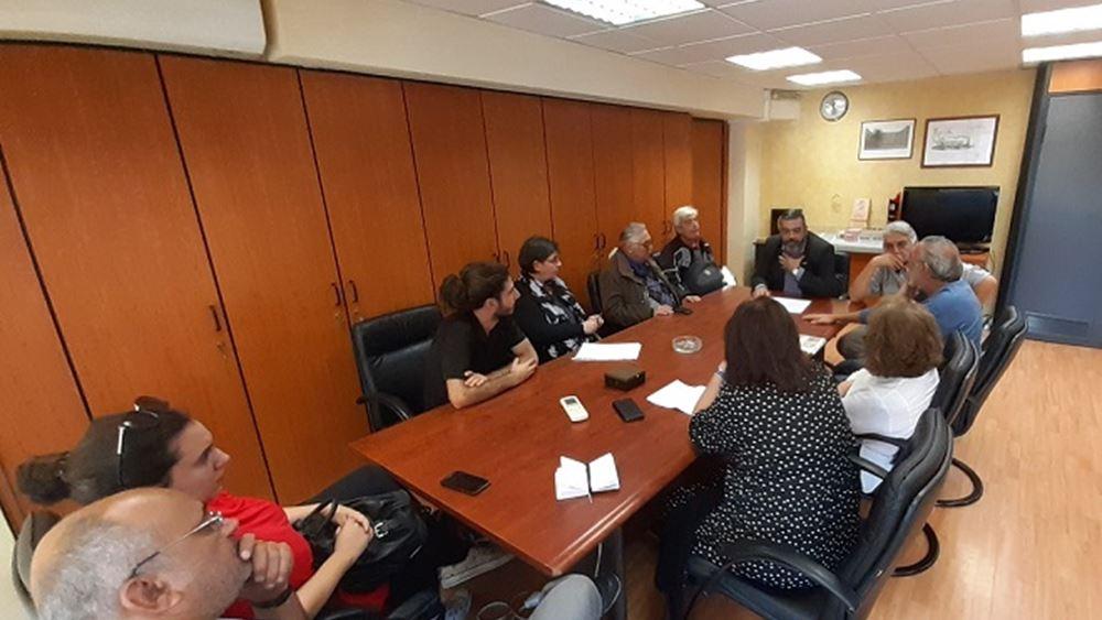 """ΚΤΥΠ: Συνάντηση για το """"Κτήμα Πάτμου και Καραβία"""""""