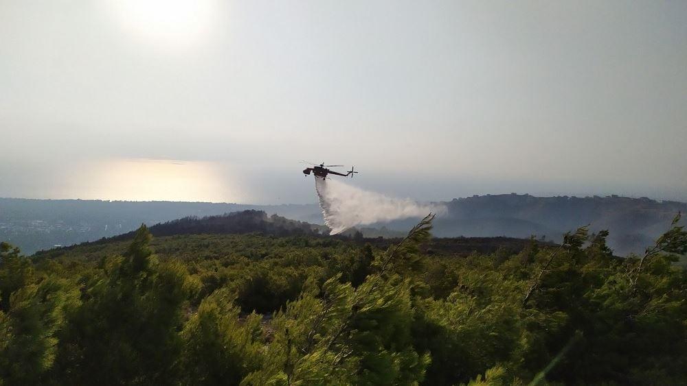 Πυροσβεστική: 55 δασικές πυρκαγιές το τελευταίο 24ωρο στη χώρα
