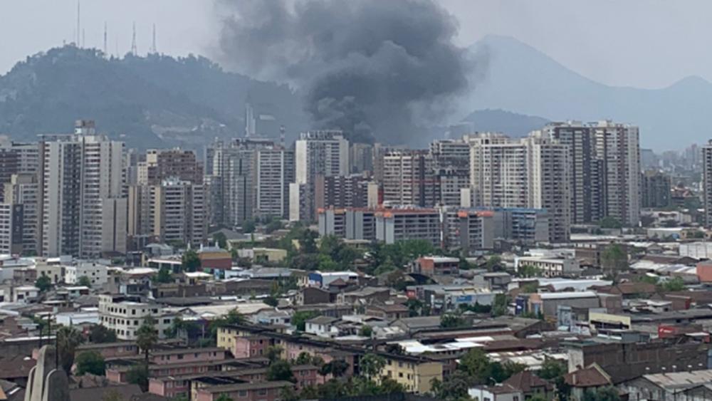 Χιλή: Δύο νεκροίσε ταραχές στο Σαντιάγο