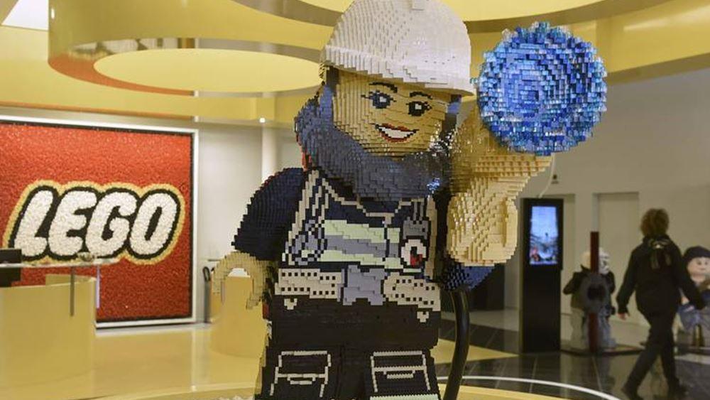 Lego A/S: Μικρή μείωση των καθαστών κερδών στο εξάμηνο